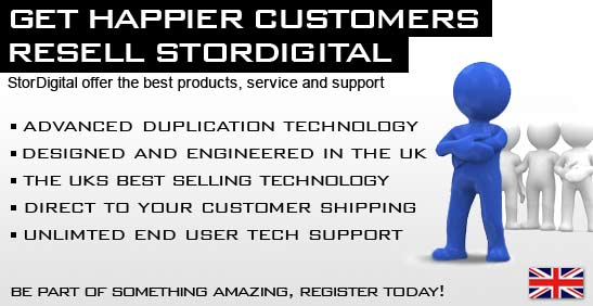 register to resell StorDigital duplication technology